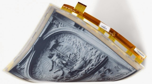 e-ink mobius flexible display