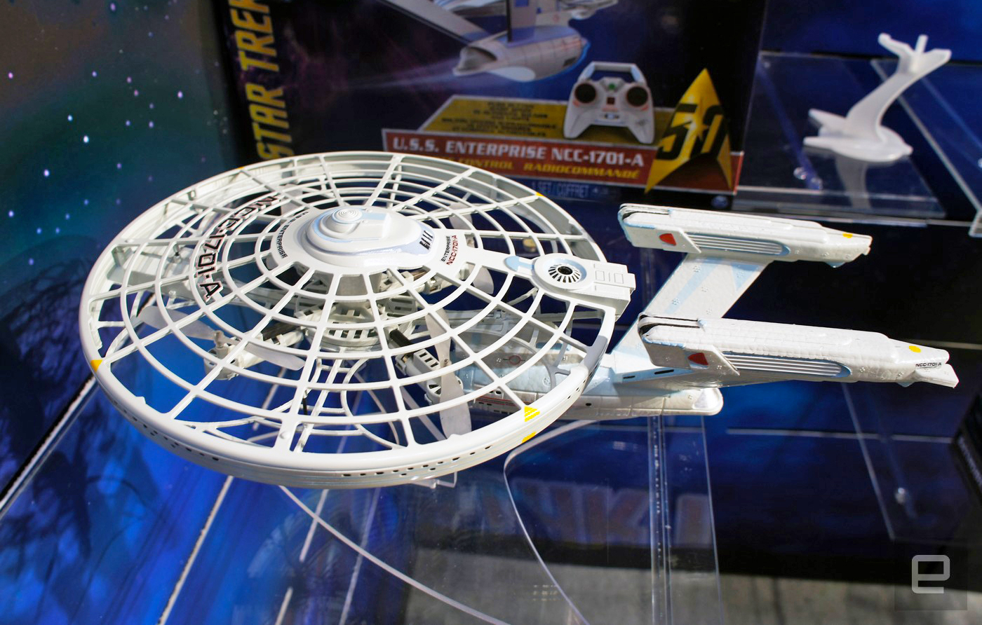Dron USS Enterprise