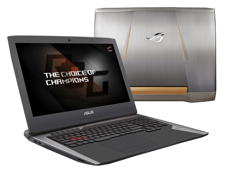 Flagowy notebook gamingowy ASUS ROG