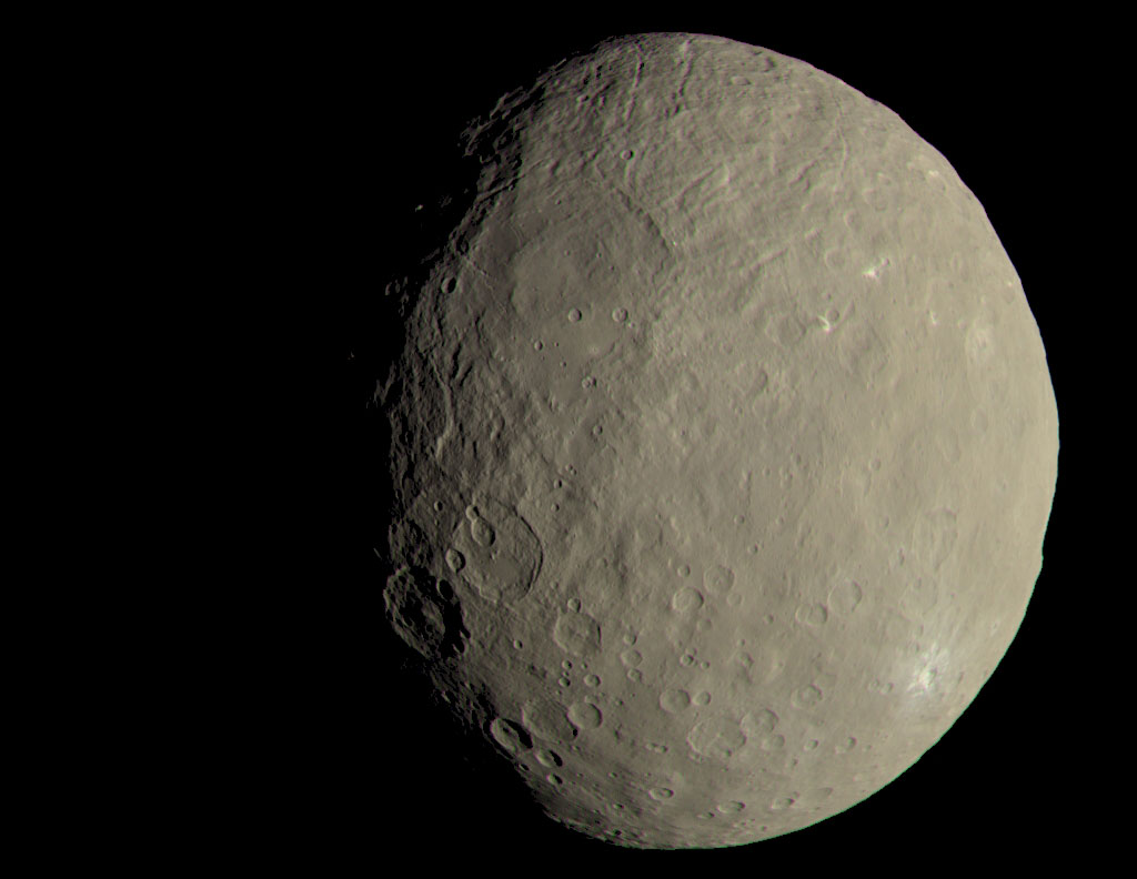 ceres naked eye