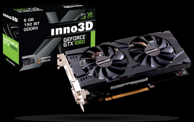 GeForce GTX 1060 6GB X2