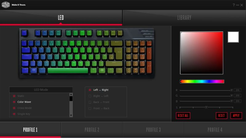 Cooler Master Masterkeys Pro M RGB Software 1
