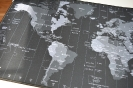 Natec Maxi Mouse Pad – Time Zone Map-3
